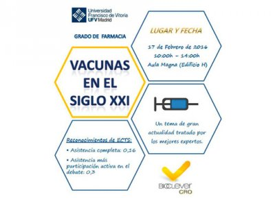 BioClever CRO and Francisco de Vitoria University (UFV) of Madrid organized a conference on 21st-century vaccines.